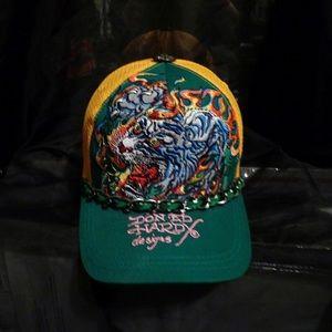 NWOT Ed Hardy Vintage Chain Trucker Hat